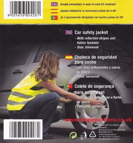 High Visibility Hi Vis Reflective Safety Waistcoat Vest High Viz